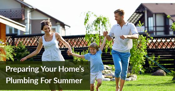 Preparing Home's Plumbing For Summer